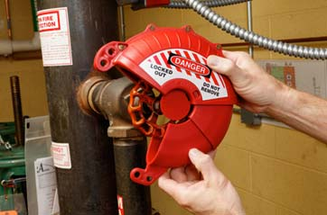 Lockout Tagout Device
