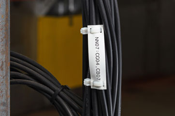 wiring harness used for printer wire and cable labeling brady  wire and cable labeling brady