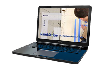 PaintStripe vs Painter's Tape Video