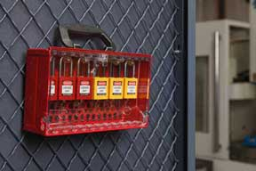 Brady Corp SlimView Lockout Tagout Lockbox and Padlocks