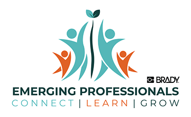 logo for the brady employee emerging professionals organization